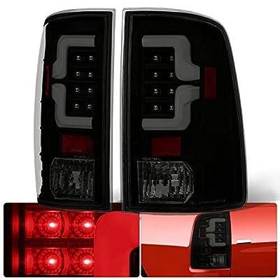 AJP Distributors Smoke Lens Black Housing Tube Bar LED Tail Lights Lamps For Ram 1500 2500 3500 2009 2010 2011 2012 2013 2014 2015 2016 2020 2020 09 10 11 12 13 14 15 16 17 18 (BLACK SMOKE): Automotive