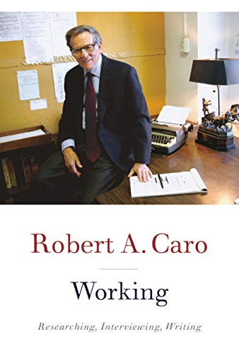 Book cover from Working by Robert A. Caro