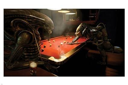 Alien vs predator pool
