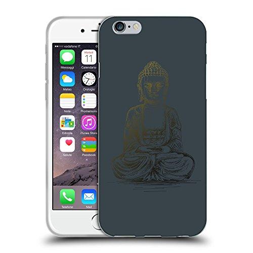 "GoGoMobile Coque de Protection TPU Silicone Case pour // Q07690606 Bouddha 4 Arsenic // Apple iPhone 6 4.7"""