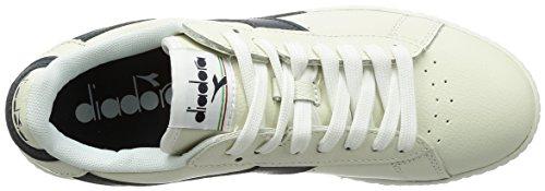 Diadora Low Bianco L Caspio Adults' Blu Bianco Trainers Mar Unisex Game Multicolore C6312 rgwIScqrPv
