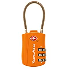 Theft is a common occurrence in most airports. As experienced travellers, we know how important it is to protect your valuables during travel. Protect your valuables by using our TravelMore TSA approved luggage locks for security and peace o...