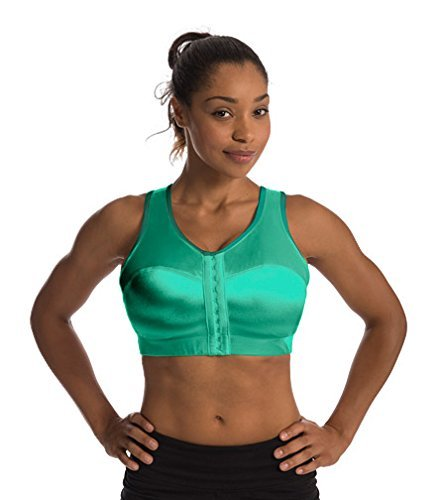 Enell Women's Wire-Free Sports Bra,00,Biscay Green