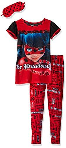 Miraculous Lady Bug Big Girls  2pc Sleepwear Set W…