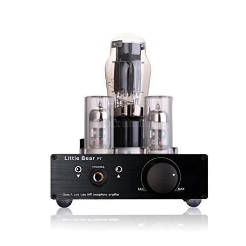 Nobsound Little Bear P7 Class A Srpp Pure Vacuum Tube Headphone Amplifier  Pure Tube Preamplifier Audio Preamp  Dual Headset Out  Black  Smps  Switching Mode Power Supply