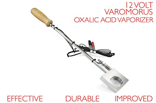 Varomorus Durable OXALIC Acid 12V Vaporizer VARROA MITE Treatment (Best Oxalic Acid Vaporizer)