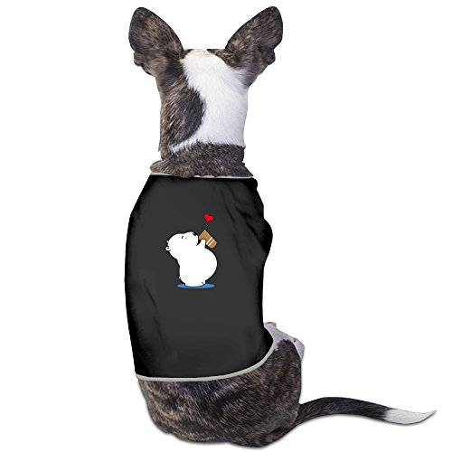 Polar Bear Costumes For Dogs (Polar Bear Drink Love Small Dogs LovelyCute T Shirts Costumes)