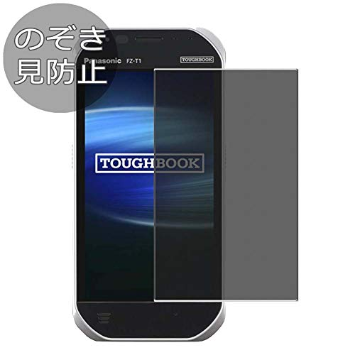 (Synvy Privacy Screen Protector Film for Panasonic TOUGHBOOK FZ-T1 Anti Spy Protective Protectors [Not Tempered Glass])