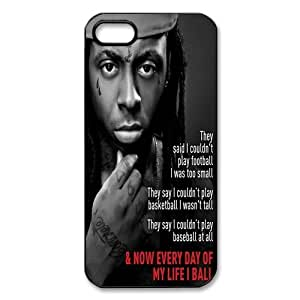 Rapper Lil Wayne Design Protective Cover Case Skin For Iphone 5s iphone5-82106