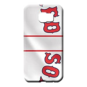 samsung galaxy s6 case Eco-friendly Packaging For phone Fashion Design phone carrying skins boston red sox mlb baseball