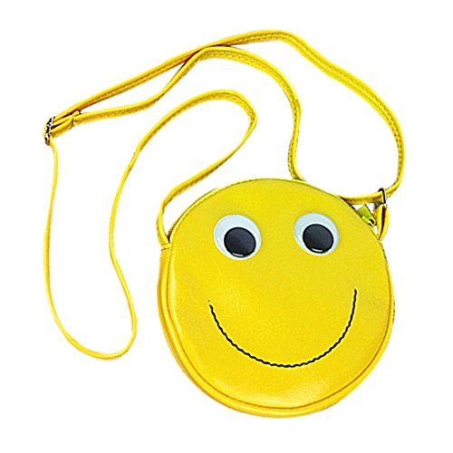 Bags Cc Handbag - CC-US Kids' Funny Smiling Face Crossbody Shoulder Bag Cute Round-shaped Schoolbag Satchel Handbag
