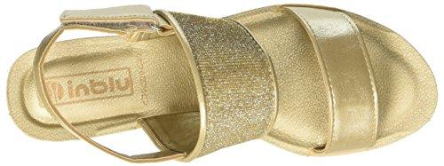 In Blu Girasole - Tacones Mujer Oro (Platino)