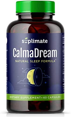 Sleep Aid | Premium Herbal Sleep Supplement with Valerian Root, Ashwagandha, Melatonin, Passion Flower, Magnesium and 5HTP | Sleep Aids for Adults Extra Strength Sleeping Pills