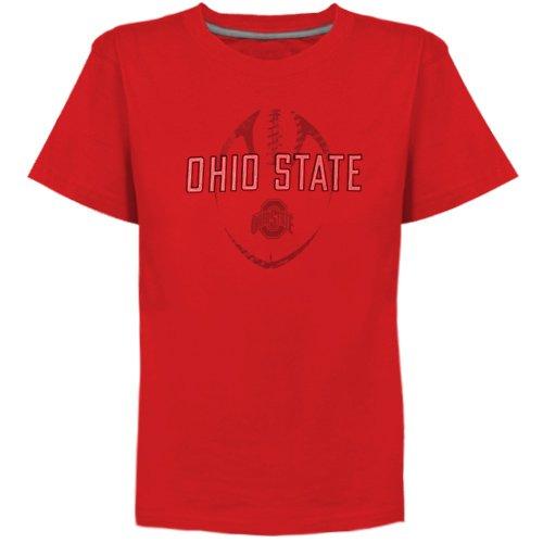(Nike Ohio State Buckeyes Preschool Team Issue T-Shirt - Scarlet (7))