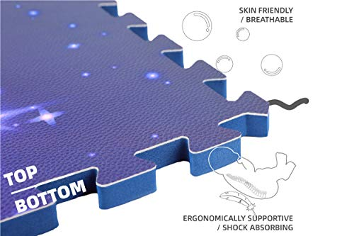 Artamber Premium PU Leather Ergonomic Soft Comfortable Extra Thick Floor Mat