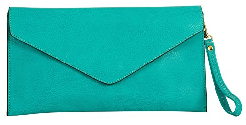 Turquoise Bag Clutch - 5