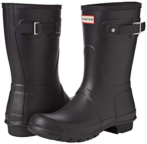Hunter Women's Original Short Rain Boots Black/Matte