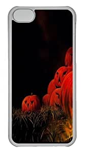 Horrible Halloween Custom iPhone 5C Case Cover Polycarbonate Transparent