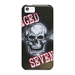 CharlesPoirier Iphone 5c Shock-Absorbing Hard Phone Cover Custom Lifelike Avenged Sevenfold Pictures [tcX7643gowp]
