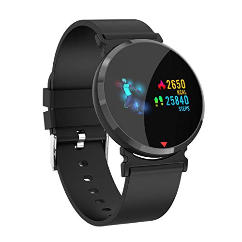 Smart Watch Fitness Tracker Smart Watch, Tracker with Heart Rate Monitor,Pedometer Watch with Sleep Monitor Blood Pressure, Step Counter for Kids Women Men Gifts -