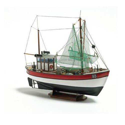 (Billing Boats 1:60 Scale Rainbow Fishing Cutter Model Construction Kit)