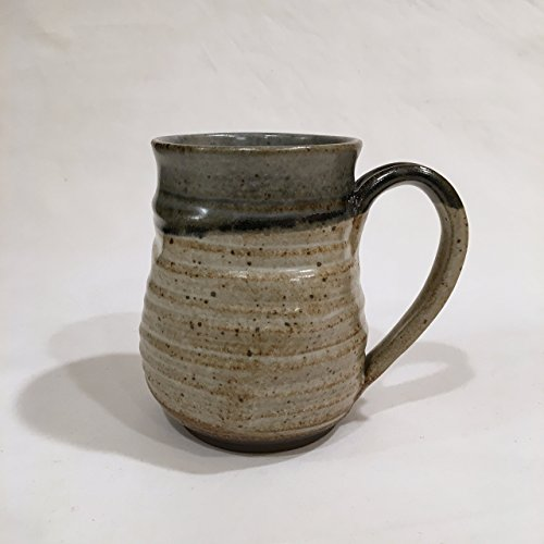 Unique Coffee Mug, Handmade Ceramic Coffee Mug, Pottery Mug UMAY17WW 16 OZ