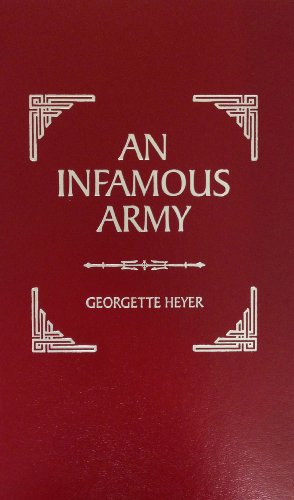 book cover of An Infamous Army
