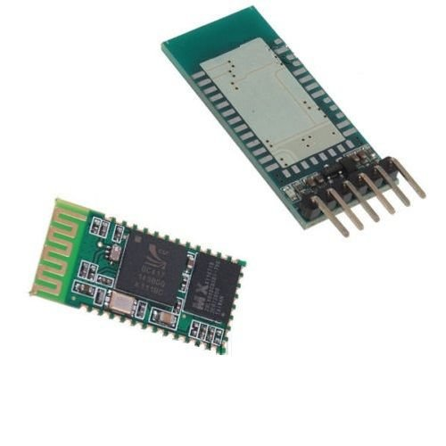 Wireless Serial 6 Pin Bluetooth RF Transceiver Module With backplane HC-06 RS232