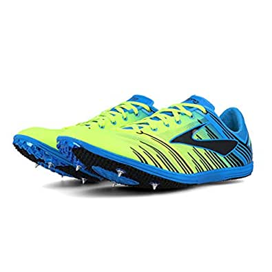 Brooks Wire 4 Running Spikes Blue Size: 9 D US Mens