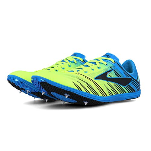 Brooks Track Shoes - Brooks Wire 4 Running Spikes - 9 - Blue