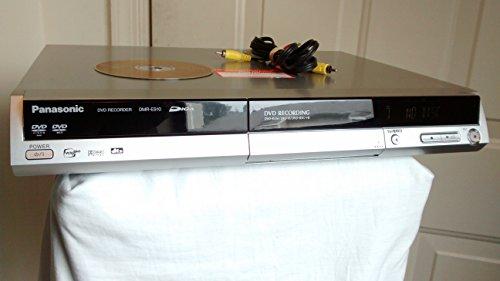 (Panasonic DVD Recorder Player DMR-ES10 DIGA DVD-RAM Burner. Silver. DVD Audio / Progressive Scan, RAM Compatible, VCRplus+, Dolby Digital, dts. 4.7GB DVD-RAM ReWritable Disc Included.)