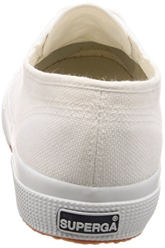 Baskets rose 2750 Adulte white C69 Mixte Gold Bianco Superga cotu Classic 8TgOxntn