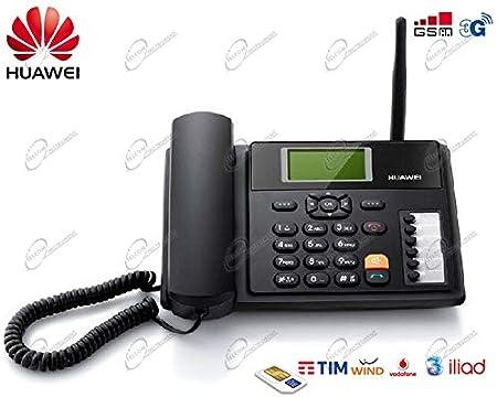 TELEFONO DESKTOP GSM 3G CON SIM CARD HUAWEI B160 PER TUTTE LE SIM: Amazon.es: Electrónica