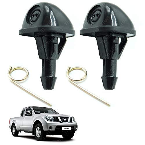 - Powerwarauto WindShield Washer Wiper Spray Jet Nozzle For Nissan Frontier Navara D40 UTE Pick-Up 2006 2007 2008 2009 2010 2011 2012 2013