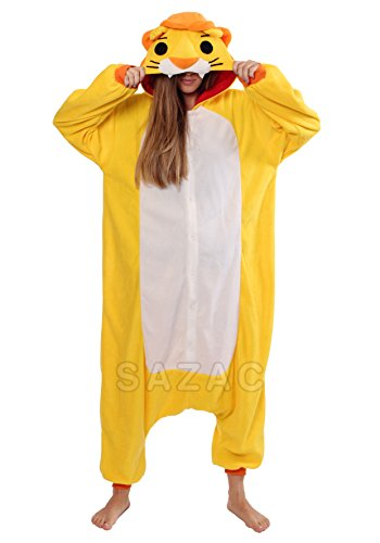 Animal Lion Onesie Costumes (Adults,