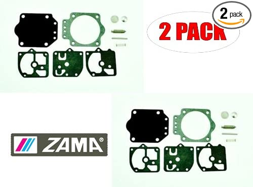 Zama 2 Pack RB-16 Carb C2S-H5,A Repair Kitss
