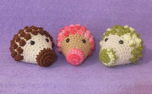 FidgetGear Handmade Hedgehog, Crochet amigurumi, 1 pc Toy for Children, Baby, Toddler Show One Size