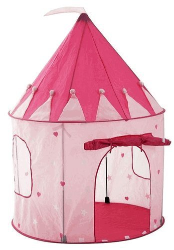 Girl's Pink Princess Castle Play Tent for Kids – Indoor / Outdoor, Baby & Kids Zone
