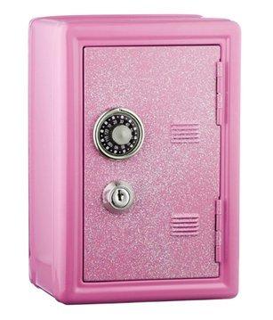 Charmant Glitter Safe Bank U2013 Mini Locker With Glitter   Kids Storage Locker (Pink)