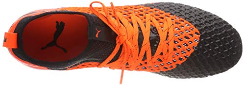 MX Netfit de 2 Homme SG 01 Orange Football Chaussures Future shocking Black Puma 2 Puma Noir tI0aax