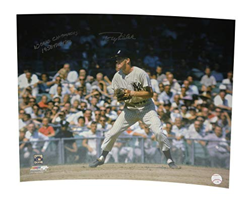 Tony Kubek Autographed Signed 16x20 Photo New York Yankees World Champions 1958 1961 1962- Certified Authentic