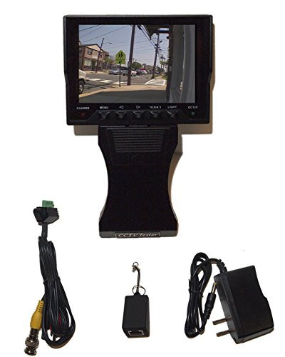 "EVERTECH 4.3"" TFT Color LCD CCTV Video Audio Security Surveillance Camera Tester"