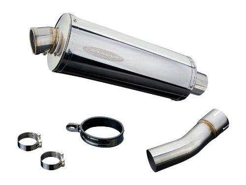 Stainless Steel Oval Silencer - Suzuki SV650 14