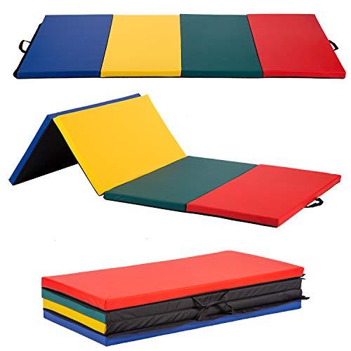 BMS Gymnastics Mats for Gymnastics, Gym Mats for Home Gymnastics Equipment Exercise Mat Tumbling Mats for Gymnastics Panel Mat for Home Gym Mat