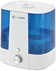PureGuardian H1175 Ultrasonic Cool Mist Humidifier for Bedrooms, Top-Fill, Quiet, Filter-Free, 6.5L Output, 140 Hr, 1.5 Gal Treated Tank Reduces Mold, Pure Guardian Humidifier with Essential Oil Tray
