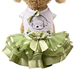 Small Dog Girl Dress,Wakeu Lace Tutu Vest Apparel