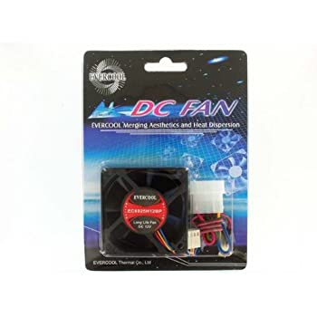 amazon com evercool ec6025h12bp 60mm x 25mm 4 wire pwm cpu fan this item evercool ec6025h12bp 60mm x 25mm 4 wire pwm cpu fan