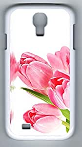 China Rose Hard Cover Back Case For Samsung Galaxy S4,PC White Case for Samsung Galaxy S4