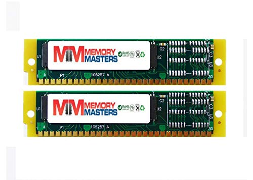 MemoryMasters 32mb 2X16mb Memory Upgrade for EMU ESi32, Kurzweil K2500 (rev A to rev J Samplers), K2000, K2000VP, and K2vx