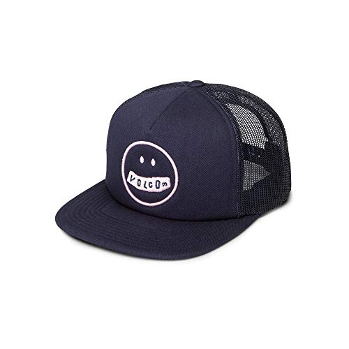 Volcom Junior's Stonar Waves Trucker Hat, sea Navy, One Size Fits All ()